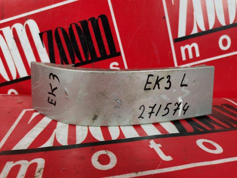 Планка под фонарь Honda Civic Ferio EK3 D15B 1995 задняя левая серебро