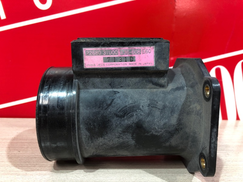 Расходомер (датчик расхода воздуха) Nissan Laurel HC34 RB20E 1993