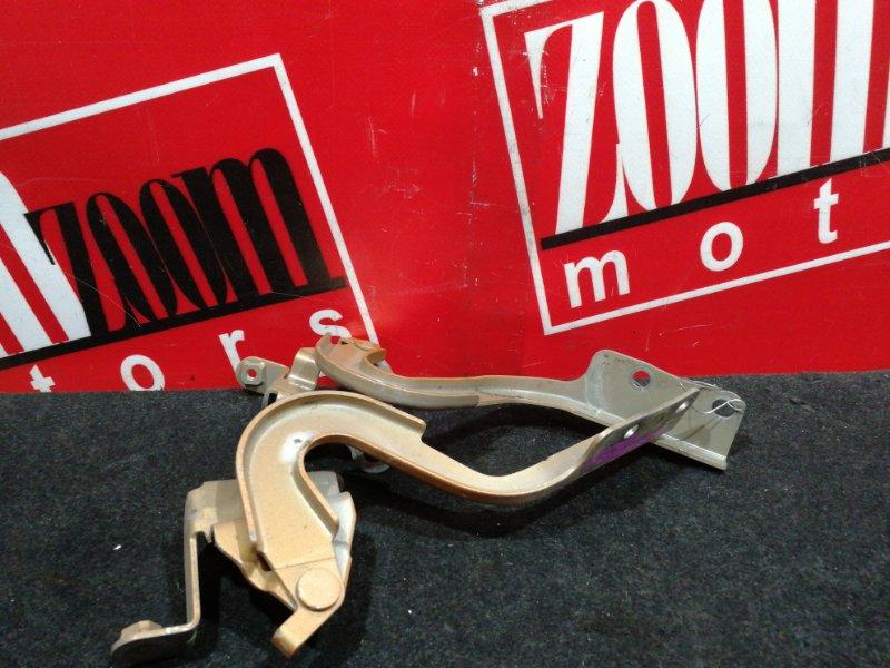 Кронштейн капота Toyota Passo KGC30 1KR-FE 2010 коричневый