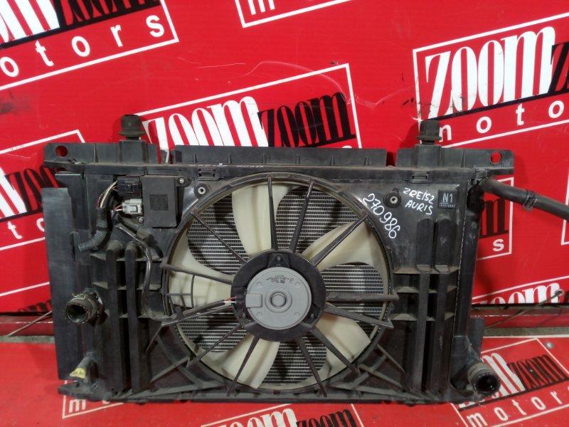 Радиатор двигателя Toyota Auris ZRE152 2ZR-FAE 2006