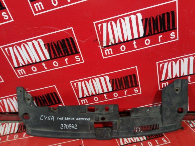 Накладка на решетку радиатора Mitsubishi Lancer X CY6A 4J10 2007 передняя