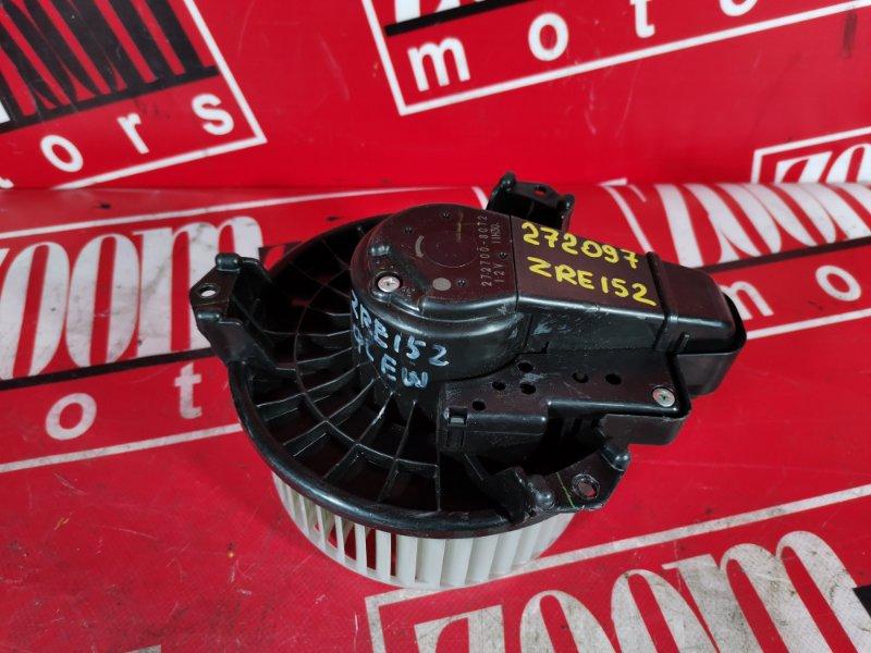 Вентилятор (мотор отопителя) Toyota Auris ZRE152 2ZR-FAE 2006