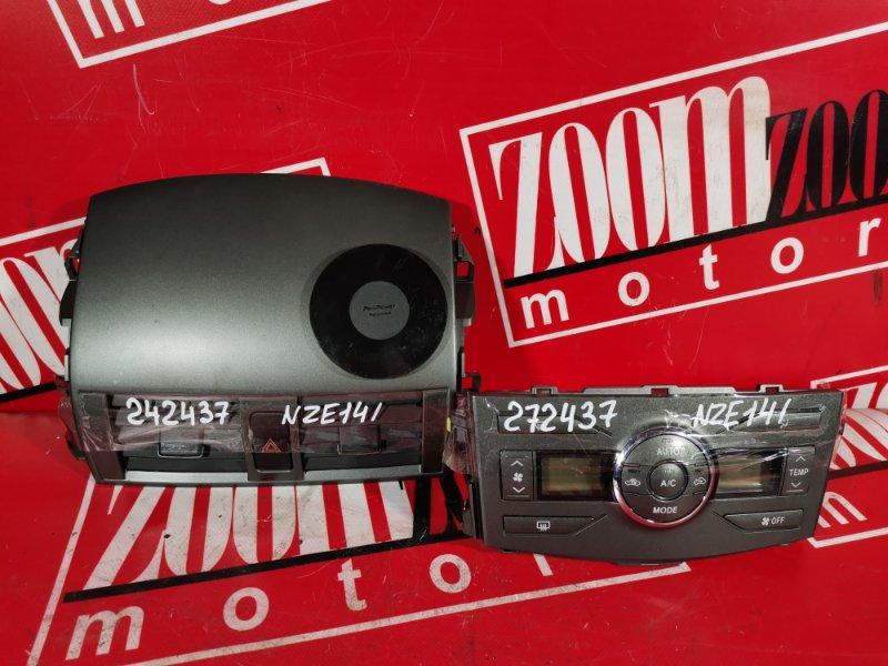 Блок управления отоплением и вентиляцией Toyota Corolla Fielder NZE141 1NZ-FE 2006
