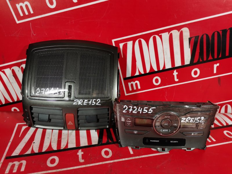 Блок управления отоплением и вентиляцией Toyota Auris ZRE152 2ZR-FAE 2006