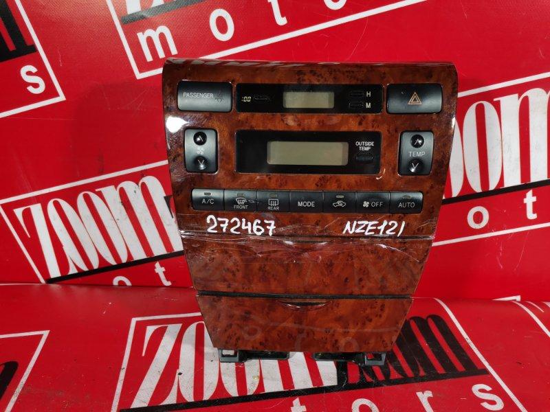 Блок управления отоплением и вентиляцией Toyota Corolla NZE121 1NZ-FE `2001