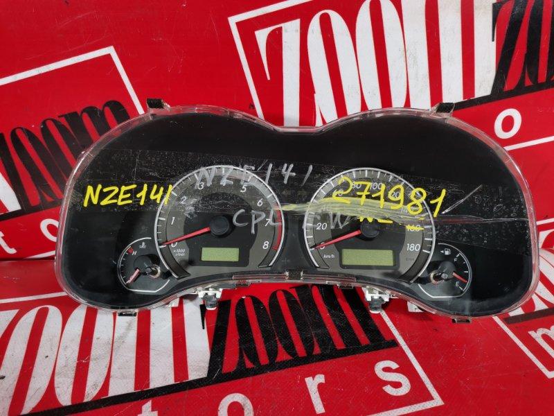 Комбинация приборов (спидометр) Toyota Corolla Fielder NZE141 1NZ-FE 2006 83800-12F70 157530-8400