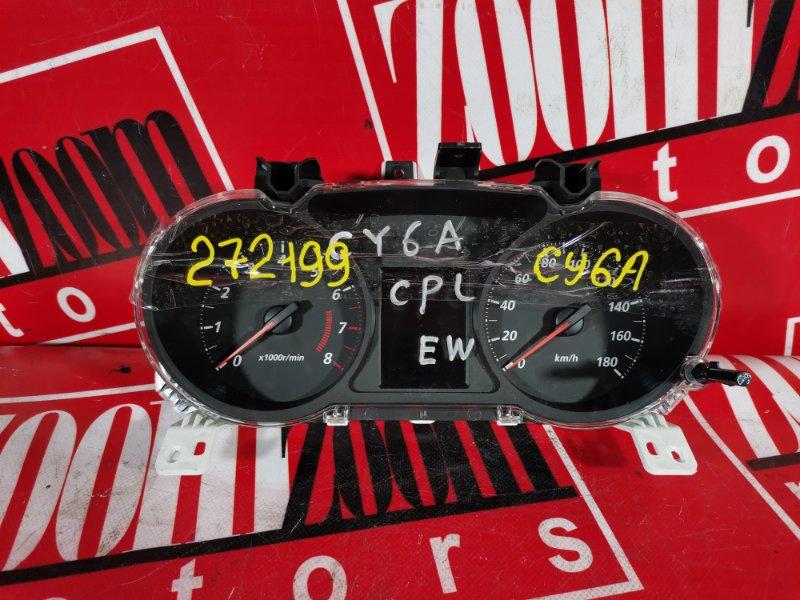 Комбинация приборов (спидометр) Mitsubishi Lancer X CY6A 4J10 2006 8100C030 012635