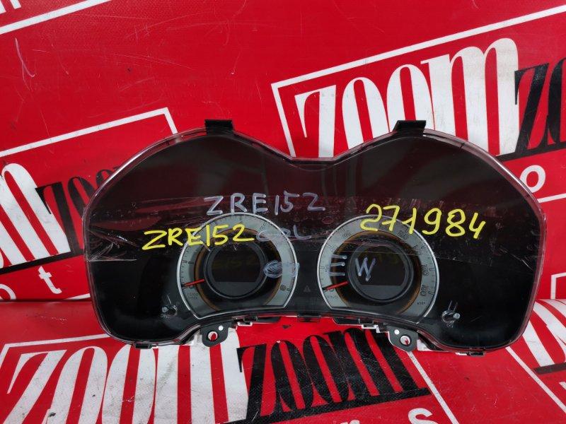 Комбинация приборов (спидометр) Toyota Auris ZRE152 2ZR-FAE 2006 83800-12F40 257430-3530