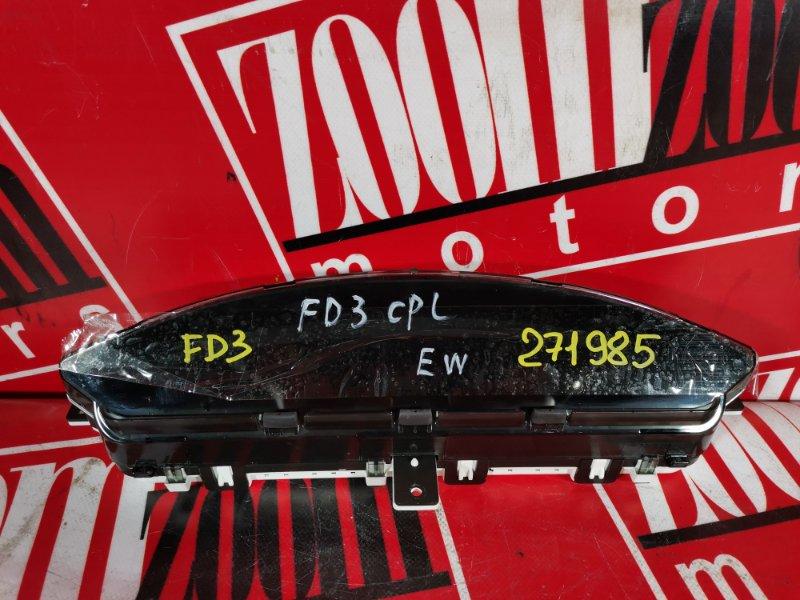 Комбинация приборов (спидометр) Honda Civic FD3 LDA 2005 верхняя 78100SNCJ000