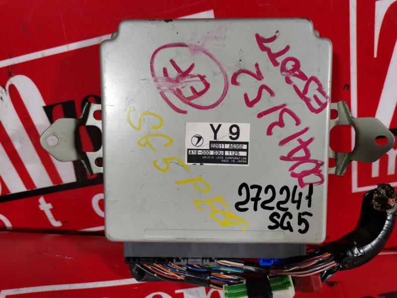 Компьютер (блок управления) Subaru Forester SG5 EJ20-T 2002 22611AG302