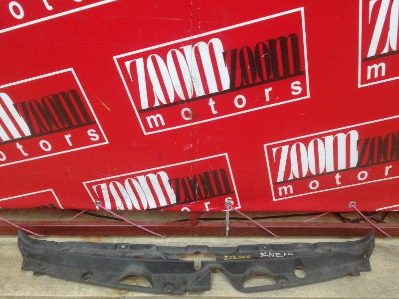 Накладка на решетку радиатора Toyota Wish ZNE10G 1ZZ-FE 2003
