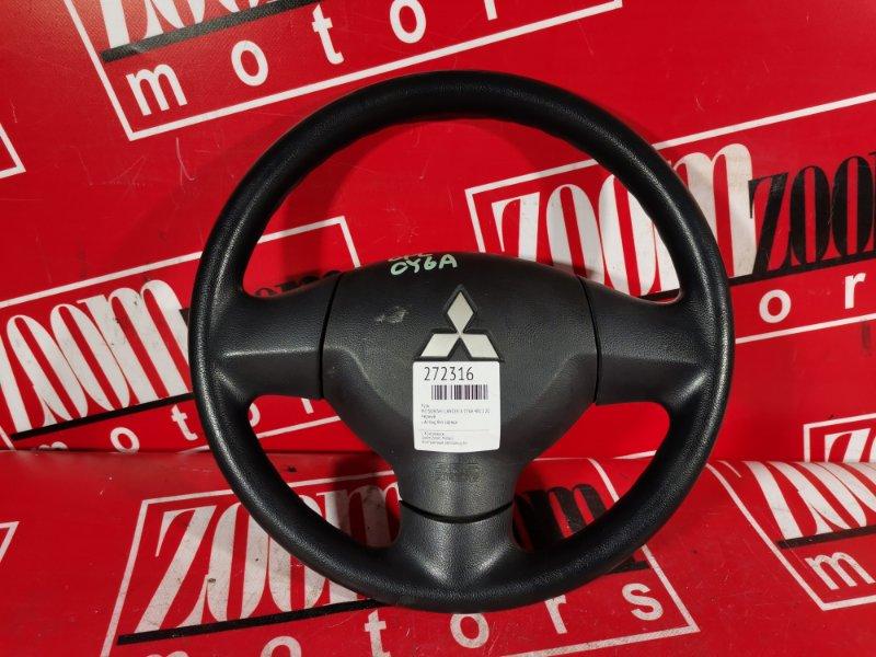 Руль Mitsubishi Lancer X CY6A 4J10 2007 черный