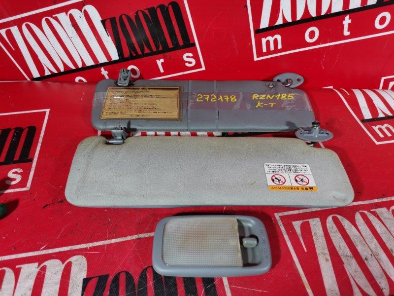 Плафон (подсветка салона) Toyota Hilux Surf RZN185 3ZR-FAE 1995 передний
