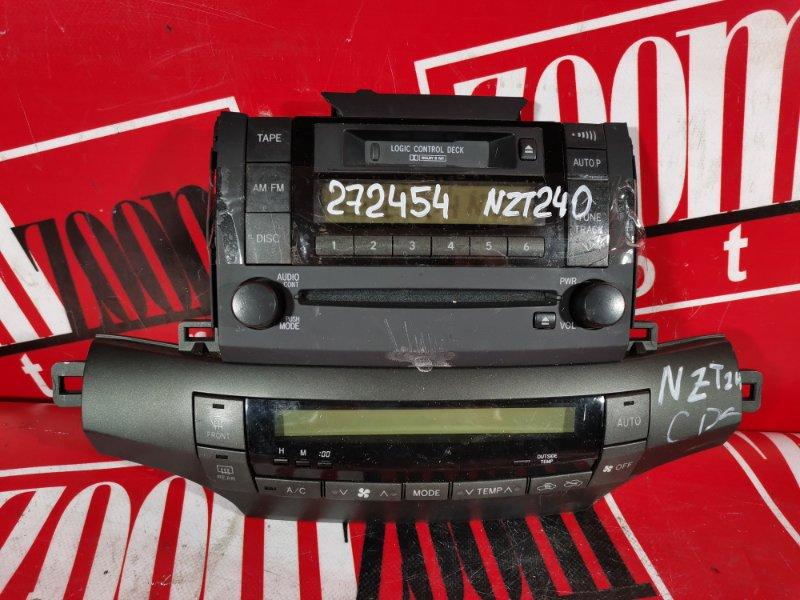 Блок управления отоплением и вентиляцией Toyota Allion NZT240 1NZ-FE 2000