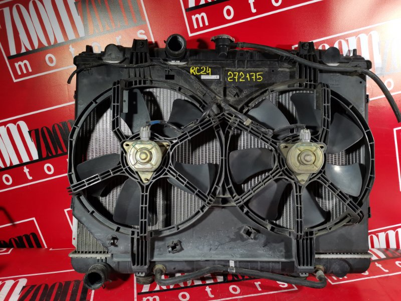 Радиатор двигателя Nissan Serena TC24 QR20DE 2001