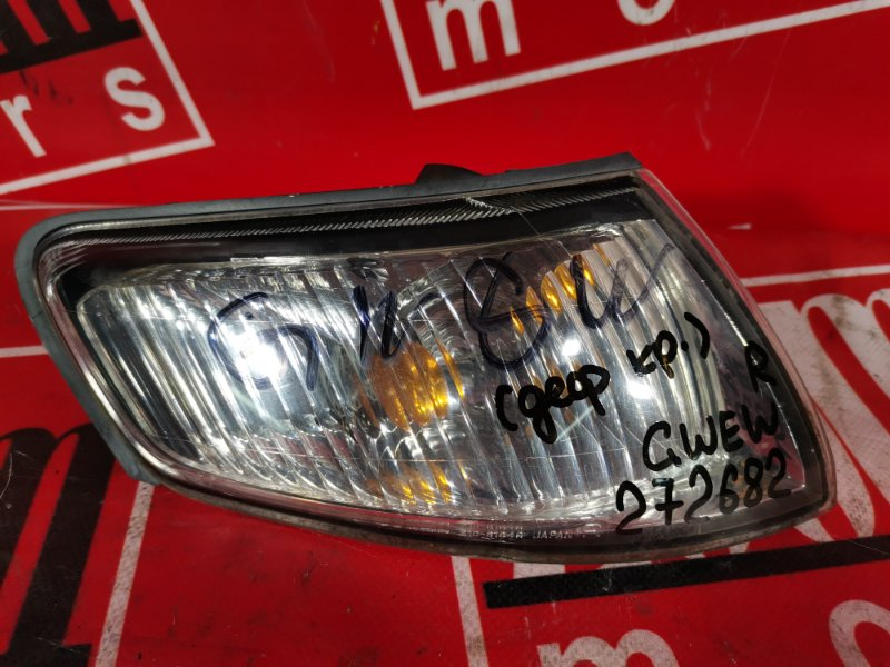 Поворотник (габарит) Mazda Capella GWEW FP-DE 1997 передний правый 210-61849