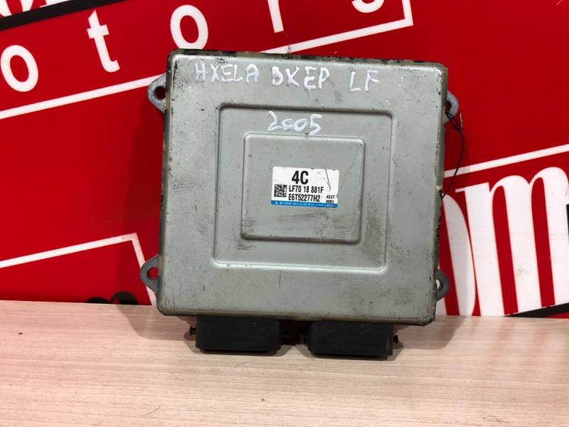 Компьютер (блок управления) Mazda Axela BKEP LF-DE 2003