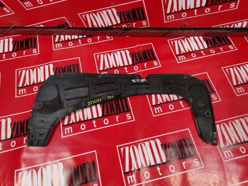 Защита двс Nissan Tiida C11 HR15DE 2004 передняя