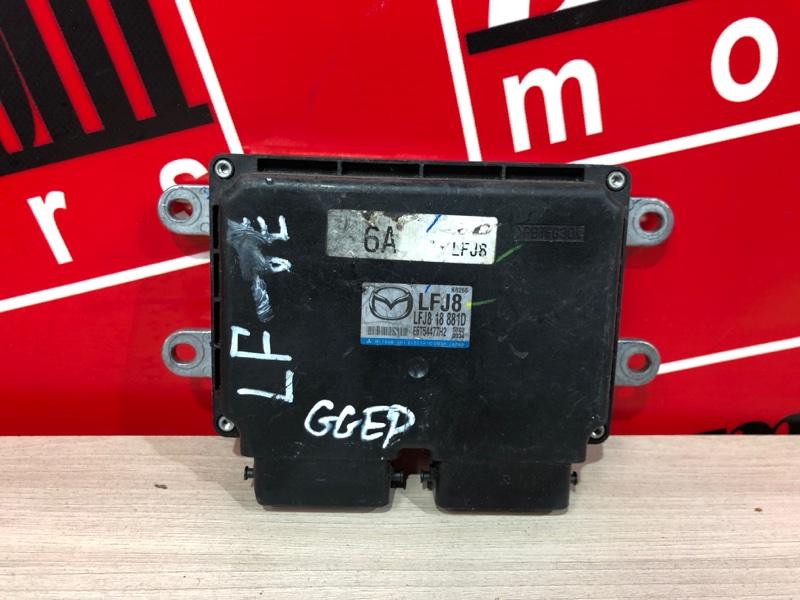 Компьютер (блок управления) Mazda Atenza GGEP LF-VE 2002