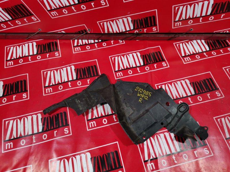 Защита двс Nissan Primera WTP12 QR20DE 2001 передняя правая