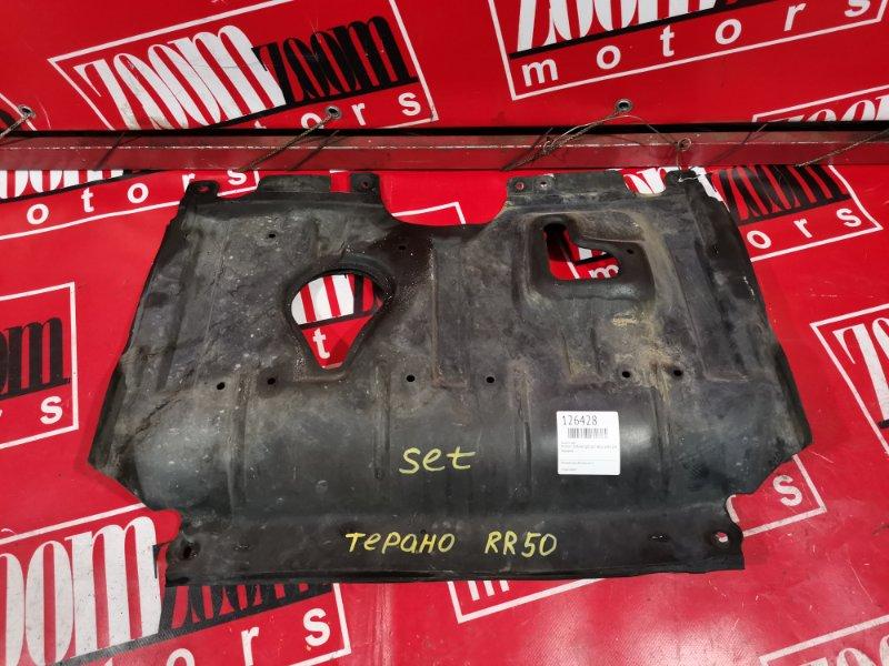 Защита двс Nissan Terrano RR50 QD32ET 1995