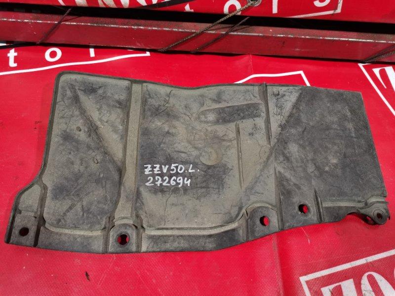 Защита двс Toyota Vista Ardeo ZZV50 1ZZ-FE 1998 передняя левая