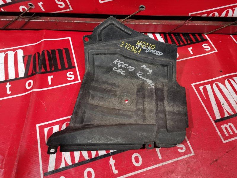 Защита двс Toyota Passo KGC10 1KR-FE 2004 передняя