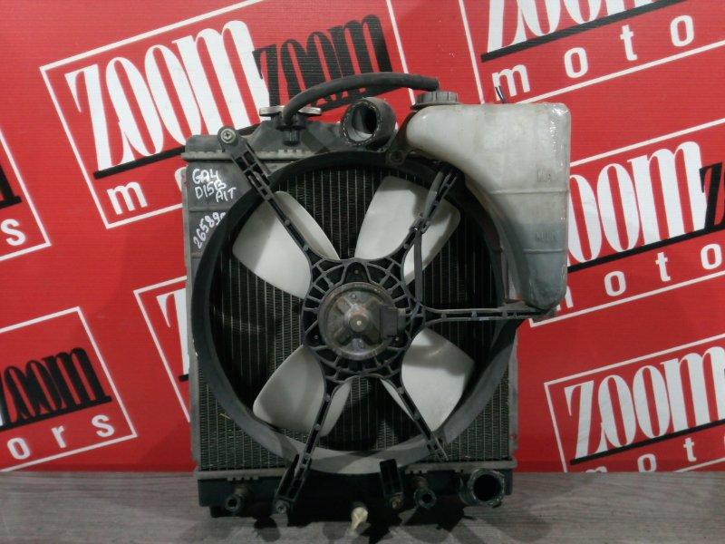 Радиатор двигателя Honda Capa GA4 D15B 1998 передний