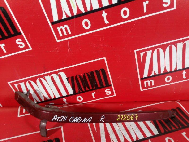Планка под фару Toyota Carina AT211 7A-FE 2000 передняя правая вишневый 20-403