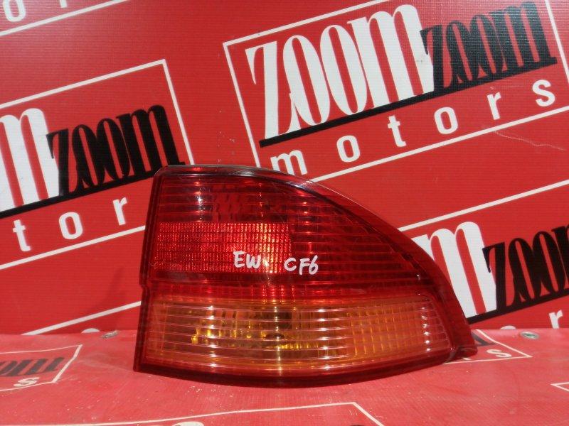 Фонарь (стоп-сигнал) Honda Accord CF6 F23A 1997 задний правый 22-32