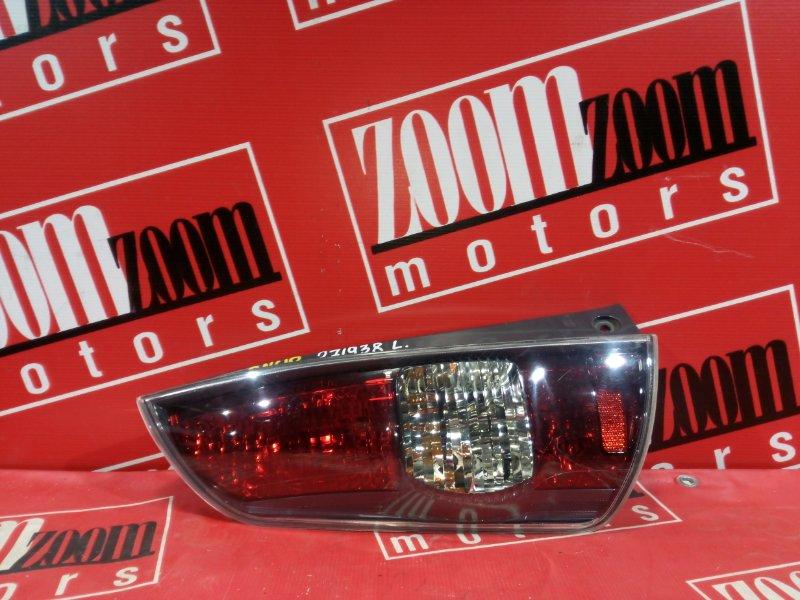 Фонарь (стоп-сигнал) Toyota Passo KGC10 1KR-FE 2004 задний левый 220-51762