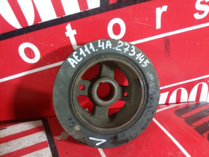 Шкив коленвала Toyota Sprinter Carib AE111 4A-FE 1997