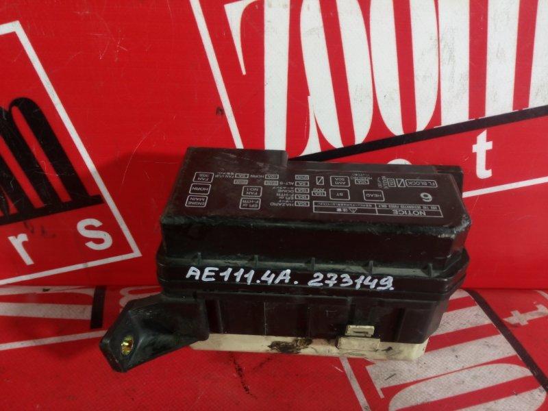 Блок реле и предохранителей Toyota Sprinter Carib AE111 4A-FE 1997