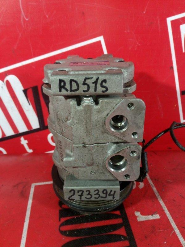 Компрессор кондиционера Suzuki Aerio RD51S M18A 2001