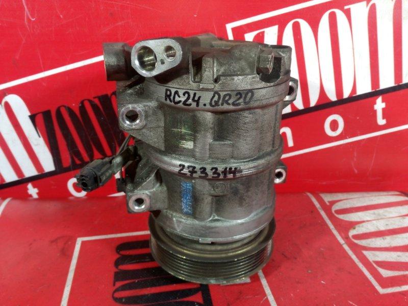Компрессор кондиционера Nissan Serena TC24 QR20DE 2001