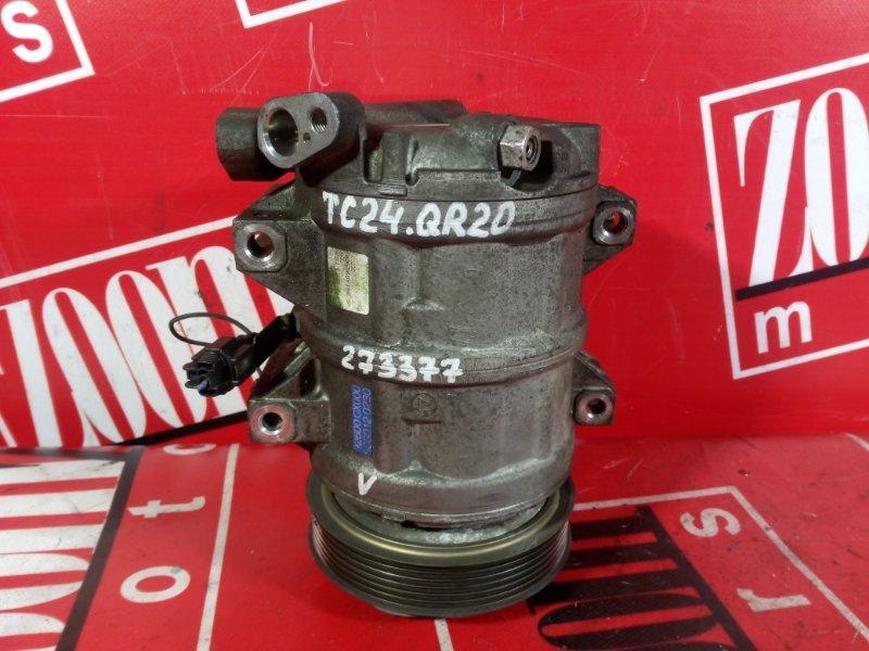 Компрессор кондиционера Nissan Serena TC24 QR25DE 2001