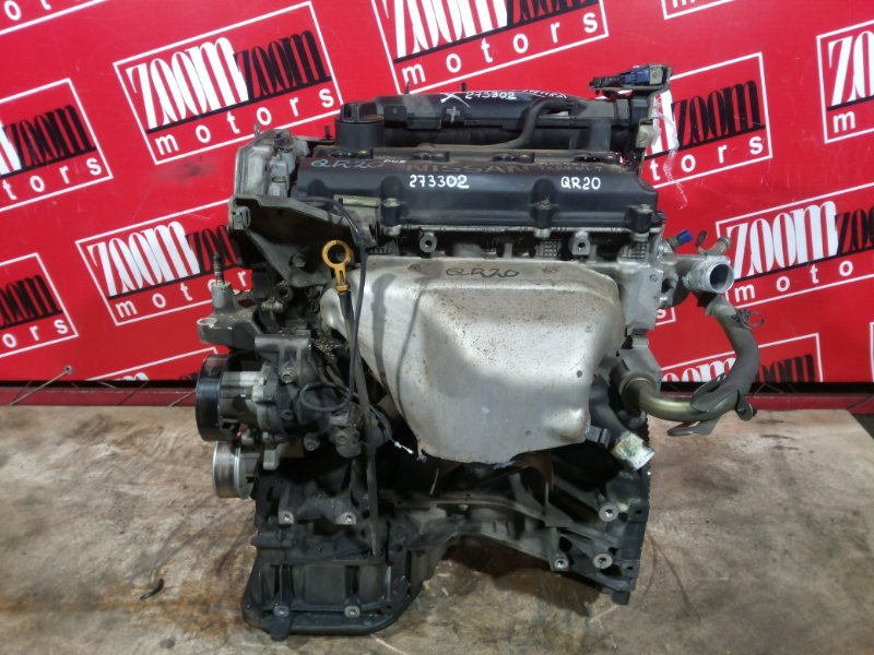 Двигатель Nissan Serena TC24 QR20DE 2001 376115A