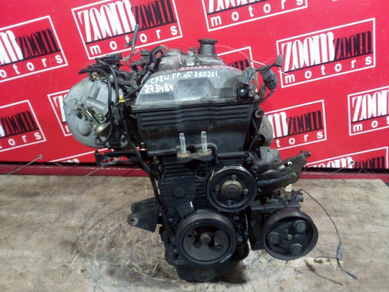 Двигатель Mazda Premacy CP8W FP-DE 1998 750261