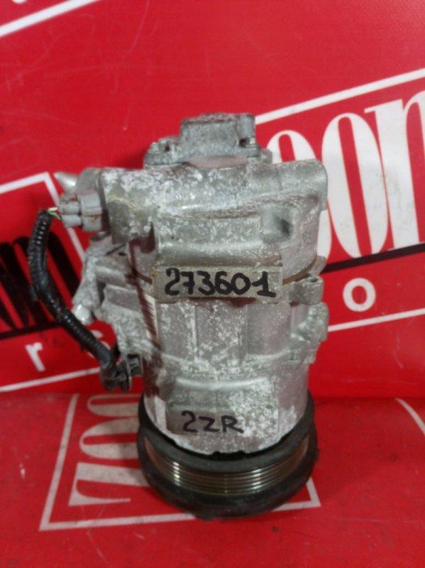 Компрессор кондиционера Toyota Auris ZRE152 2ZR-FAE 2006