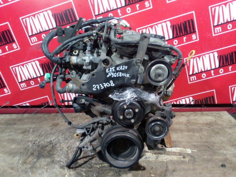 Двигатель Nissan Caravan E25 KA24DE 2001 965844X