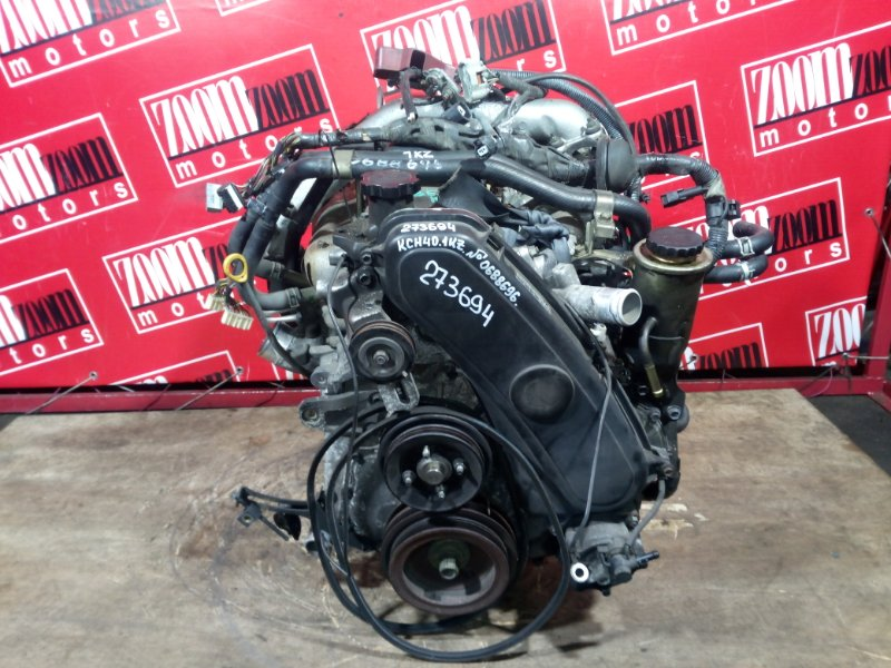 Двигатель Toyota Hiace Regius KCH40 1KZ-TE 1997 0688696