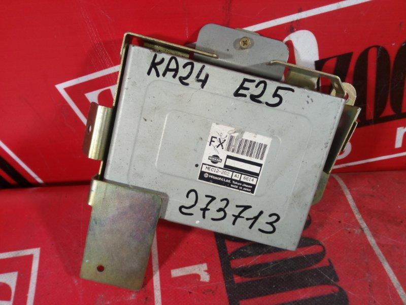 Компьютер (блок управления) Nissan Caravan E25 KA24DE 2001