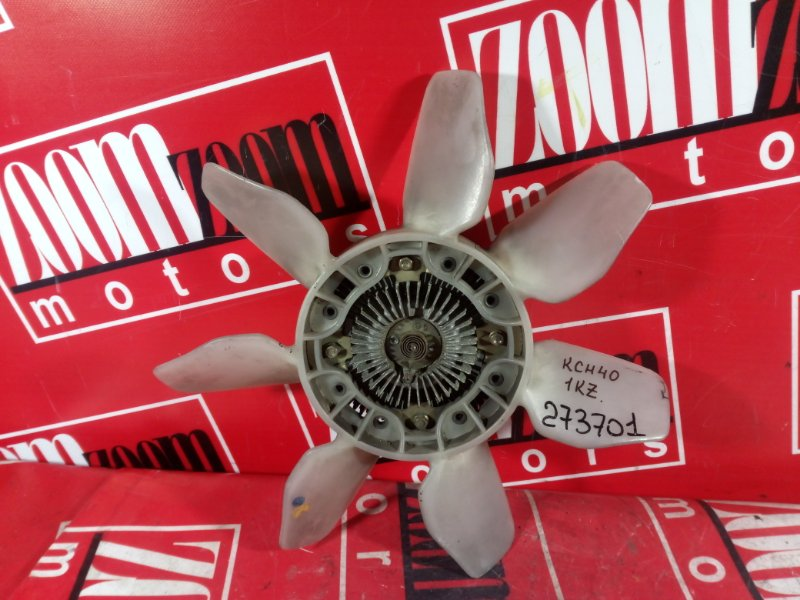 Вискомуфта вентилятора радиатора Toyota Hiace Regius KCH40 1KZ-TE 1997