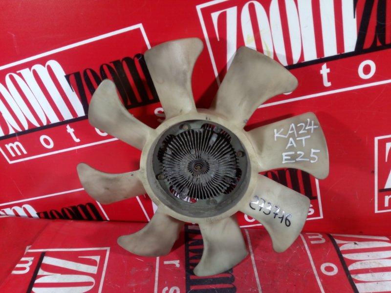 Вискомуфта вентилятора радиатора Nissan Caravan E25 KA24DE 2001