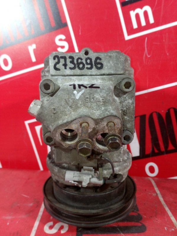 Компрессор кондиционера Toyota Hiace Regius KCH40 1KZ-TE 1997