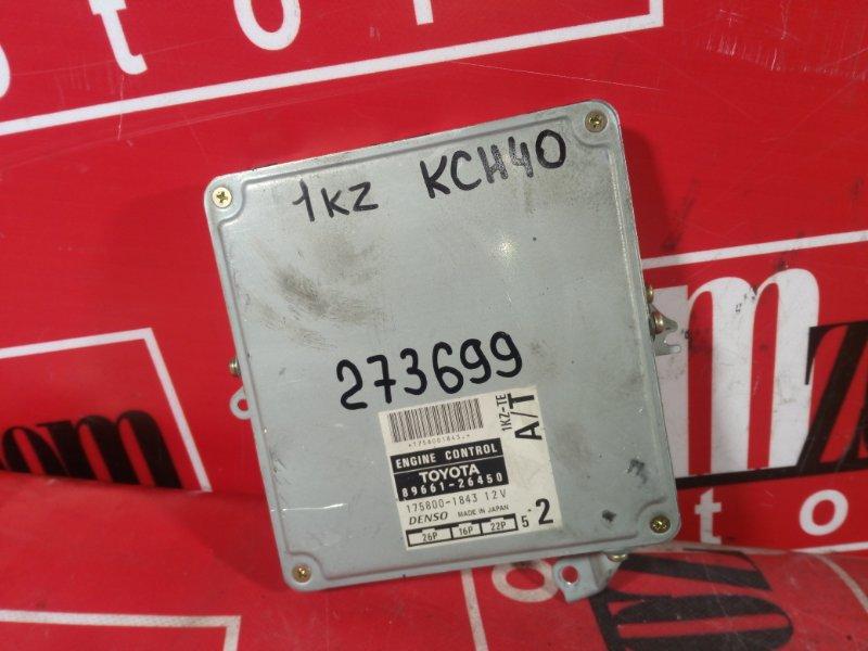 Компьютер (блок управления) Toyota Hiace Regius KCH40 1KZ-TE 1997