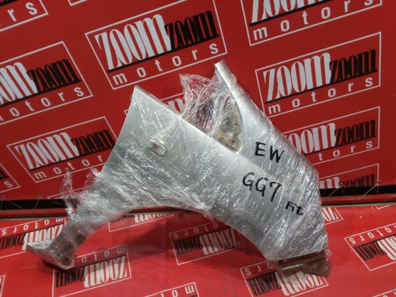 Крыло Honda Fit Shuttle GG7 L15A 2011 переднее правое серебро
