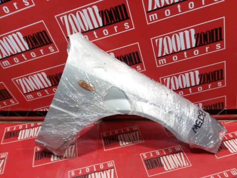 Крыло Mazda Familia BJ5W ZL-DE 2000 переднее правое серебро