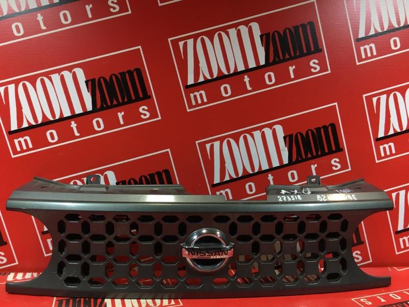 Решетка радиатора Nissan Cube BZ11 CR12DE 2002 передняя серый