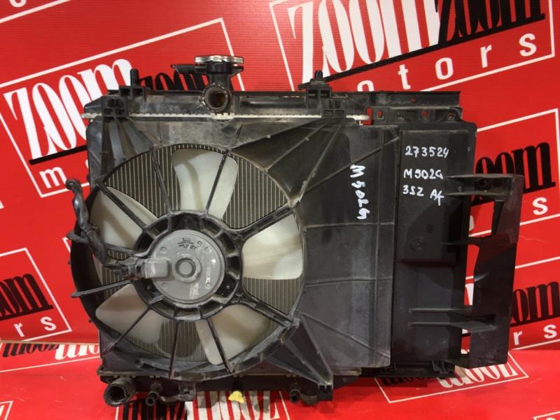 Радиатор двигателя Toyota Passo Sette M502G 3SZ-VE 2008 передний
